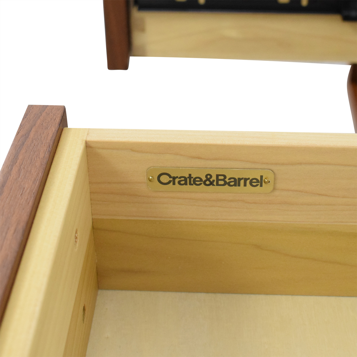 buy Crate & Barrel Tate Nightstands Crate & Barrel End Tables