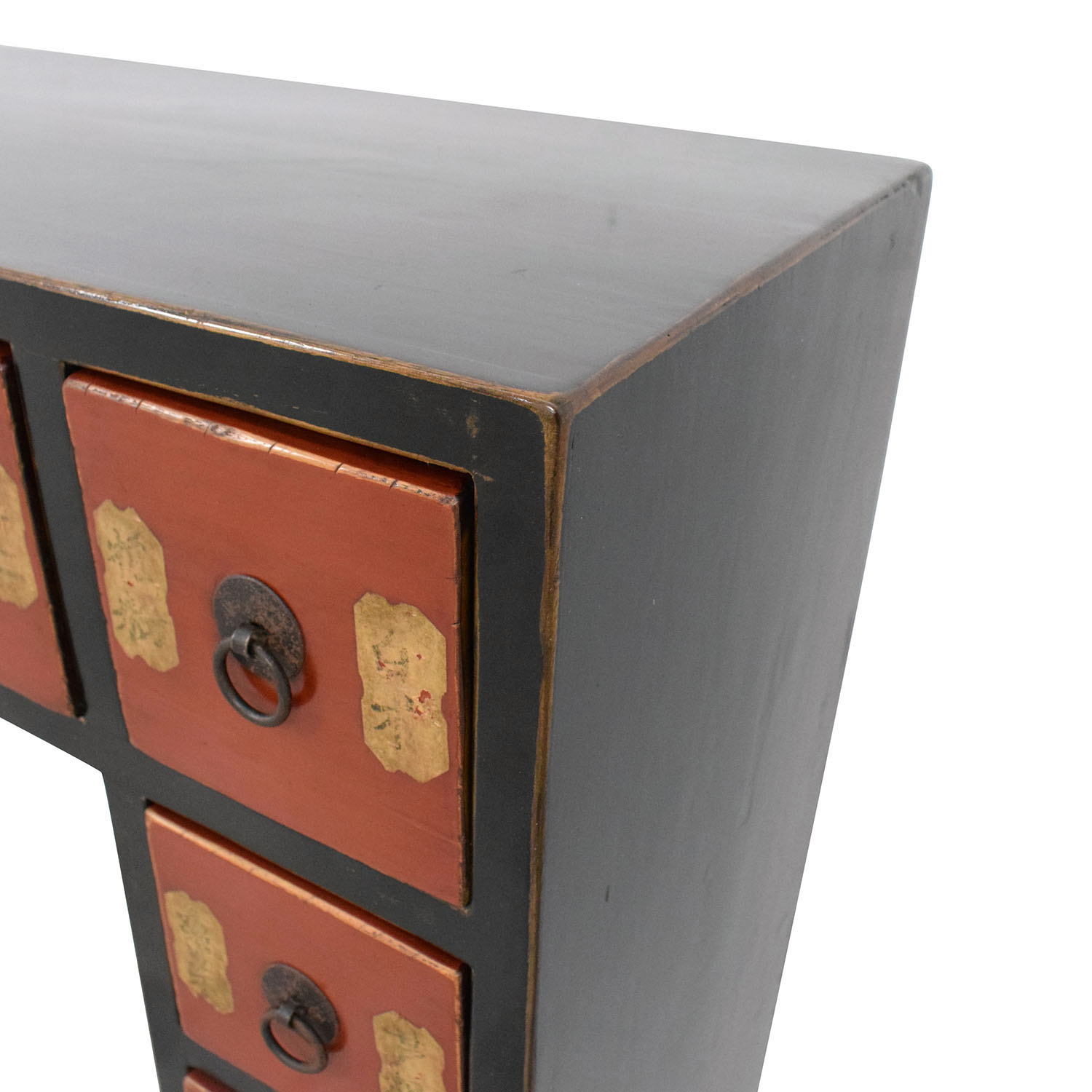 shop Chinese Antique Credenza with Drawers  Accent Tables