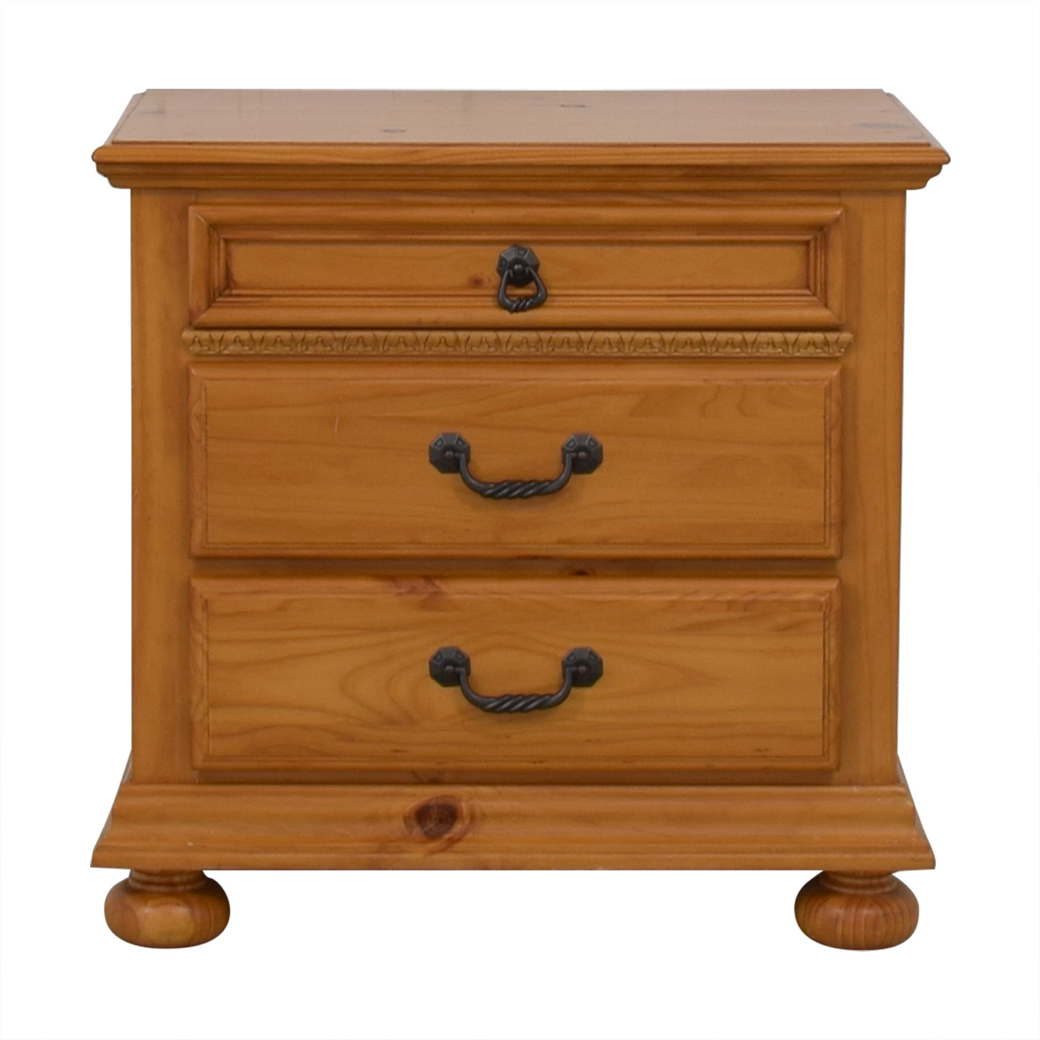 shop  Wood Three Drawer Nightstand online