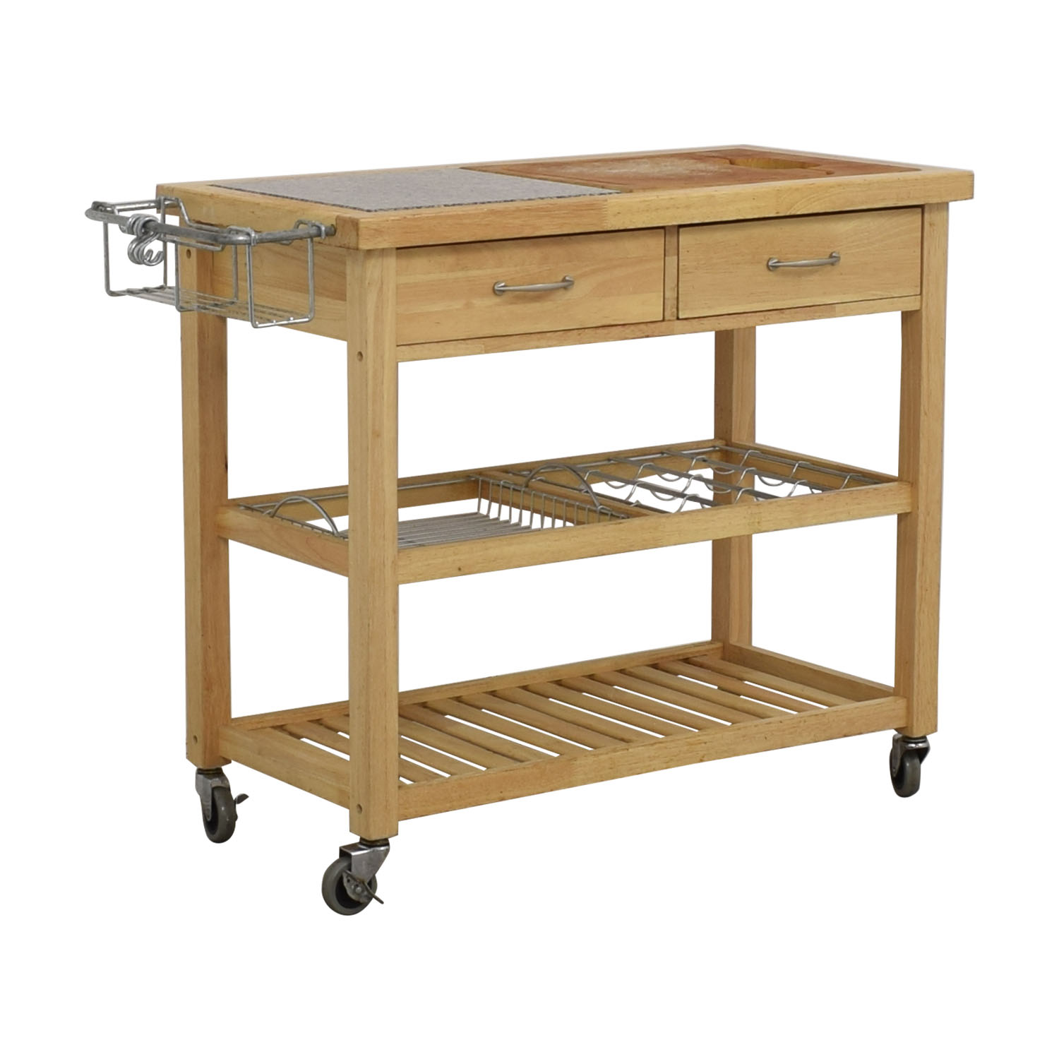 Pottery Barn Rolling Utility Table / Utility Tables