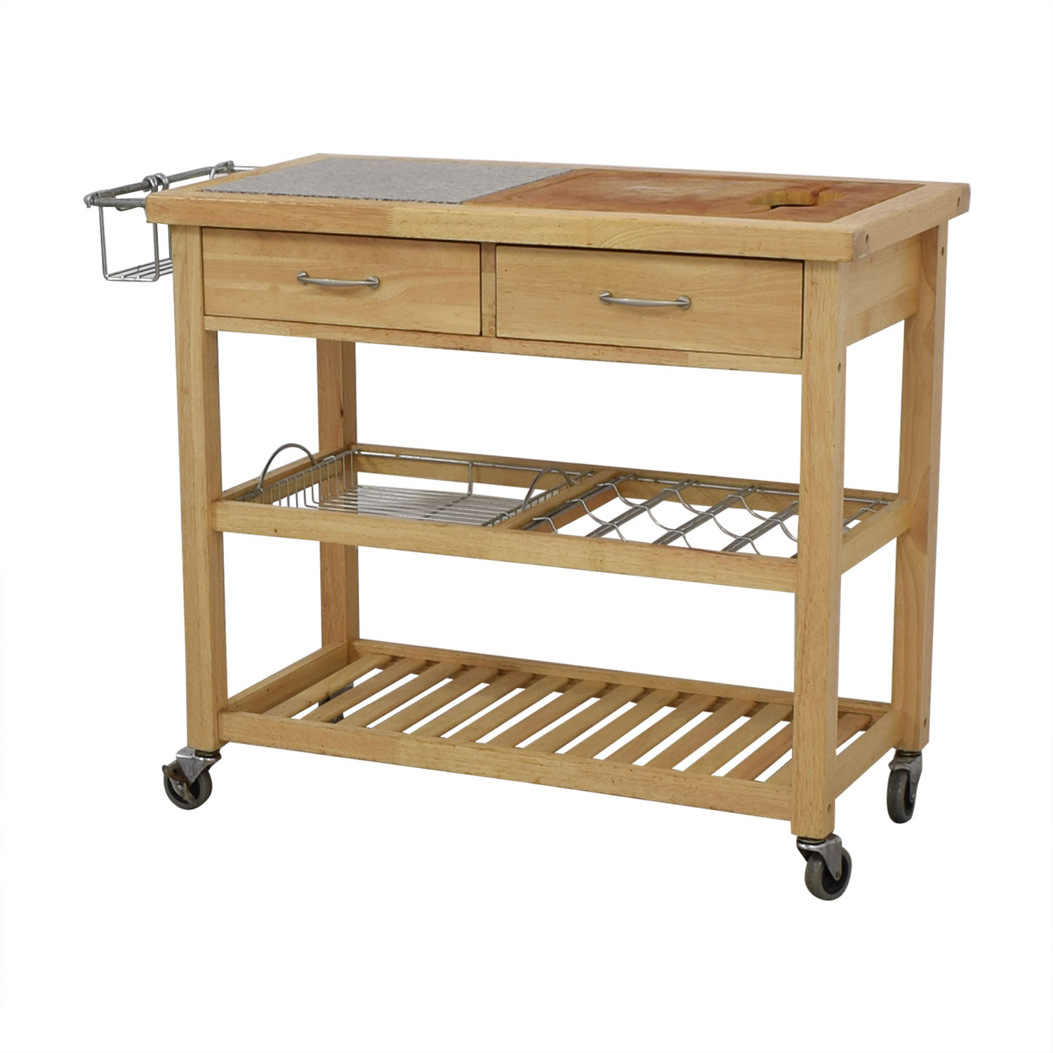 Pottery Barn Rolling Utility Table / Tables