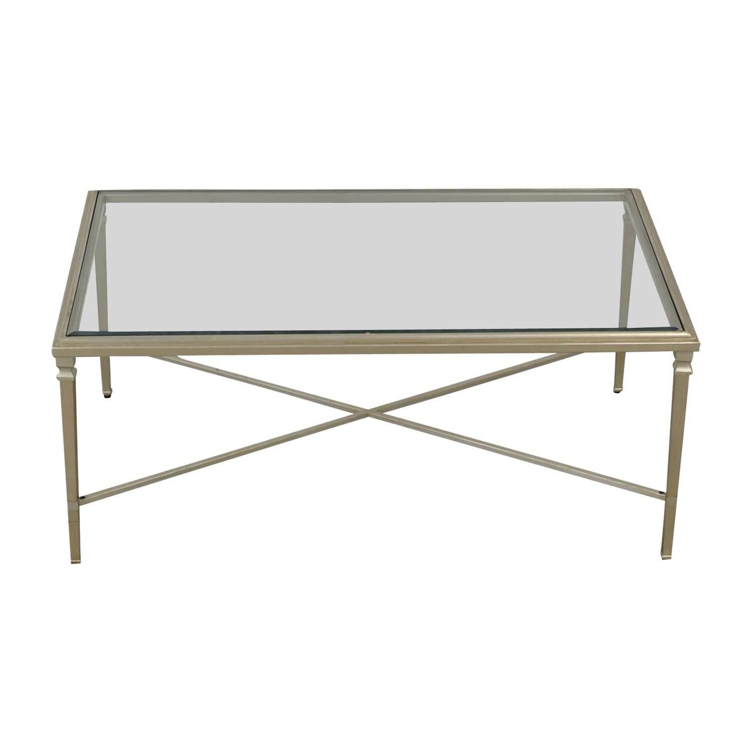 Ethan Allen Ethan Allen Heron Coffee Table silver