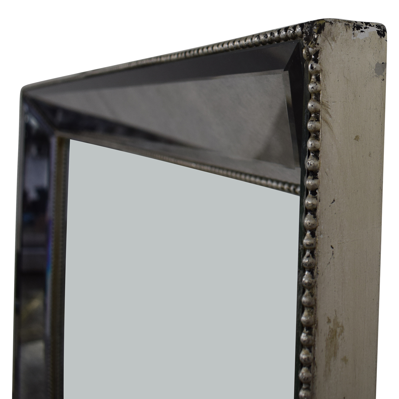 Restoration Hardware Venetian Beaded Mirror sale