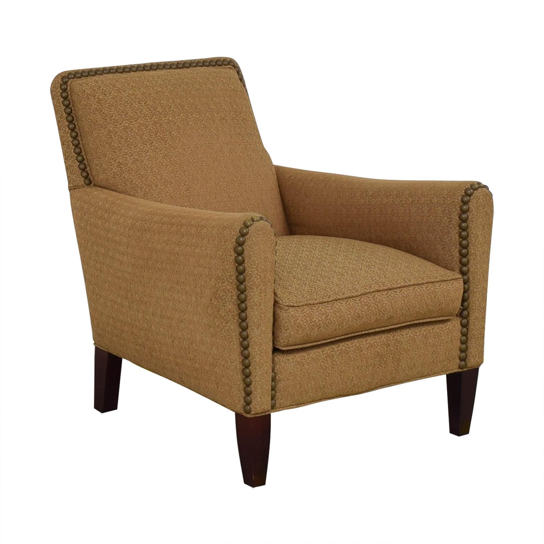 buy Lee Industries Nailhead Upholstered Armchair Lee Industries