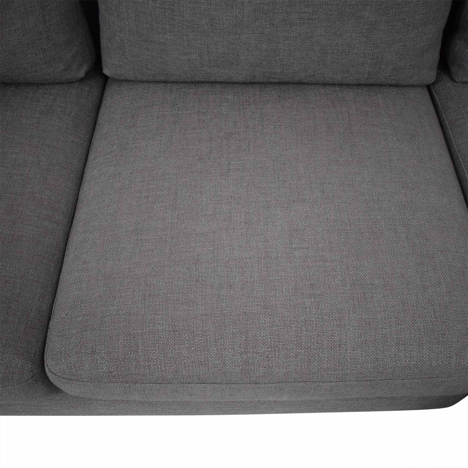 Interior Define Sloan Sectional Sofa Left Chaise nyc