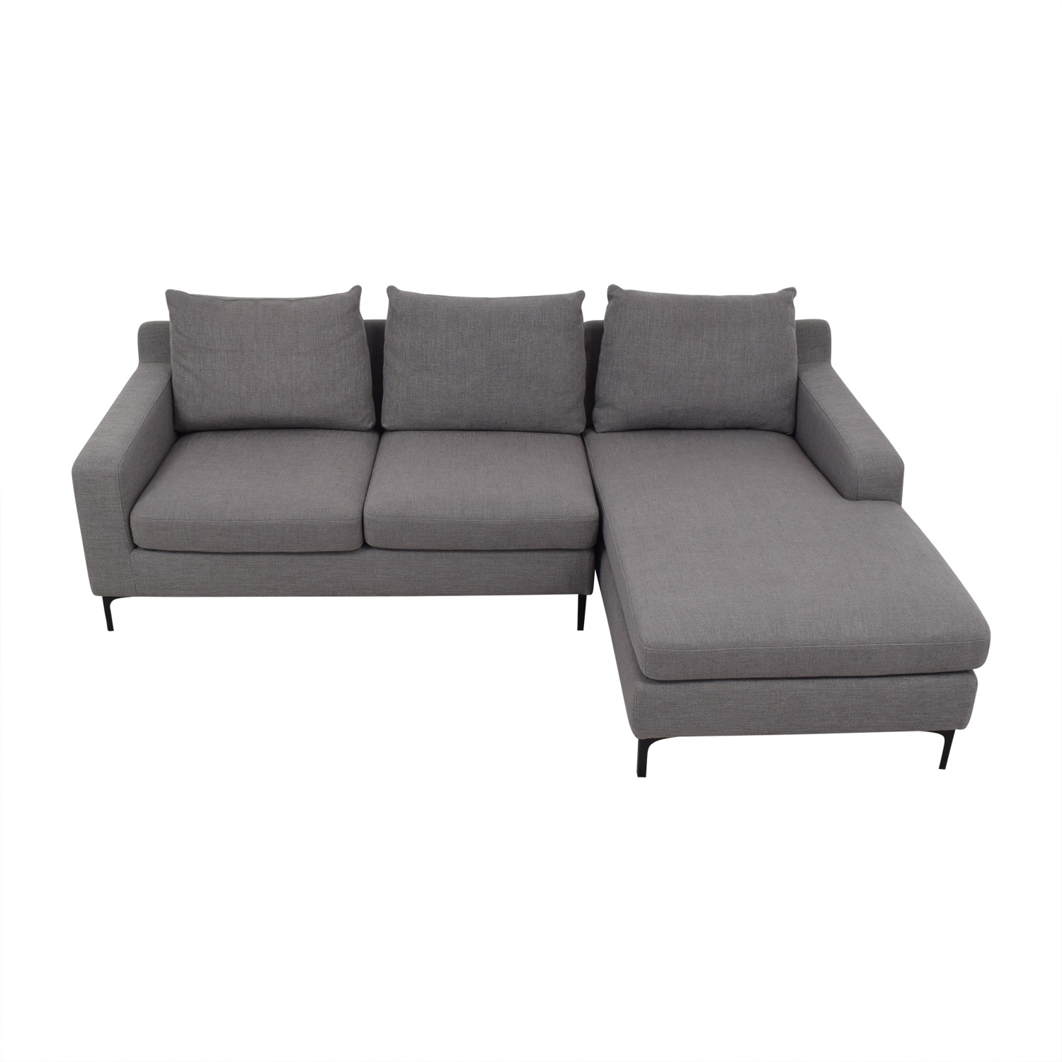 Sloan Sectional Sofa Left Chaise / Sofas