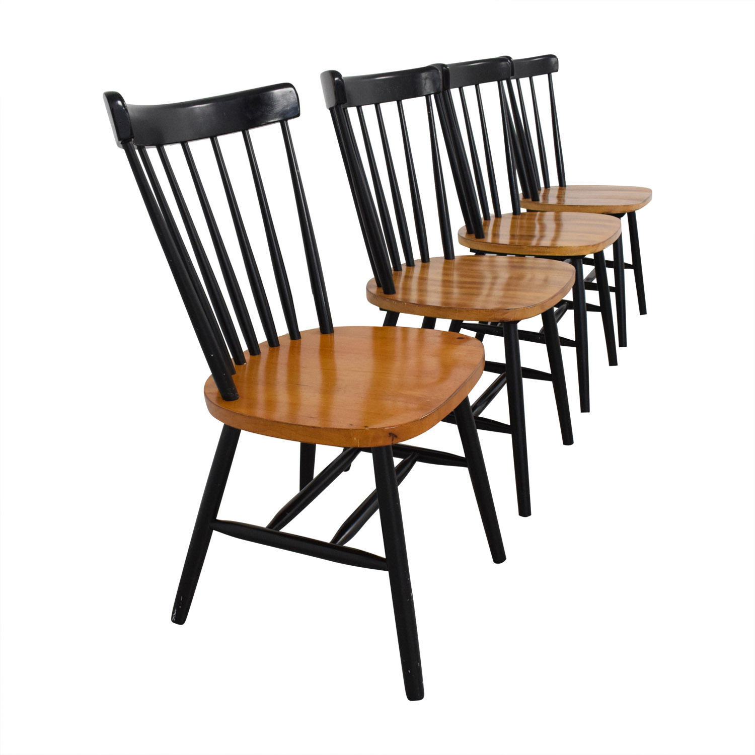 Copenhagen Spindle Back Dining Chairs used