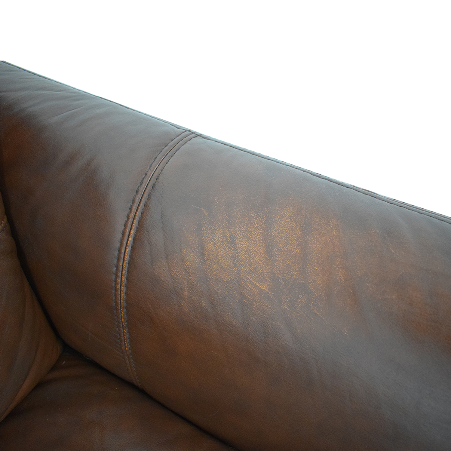 shop Raymour & Flanigan Leather Sofa Raymour & Flanigan Classic Sofas