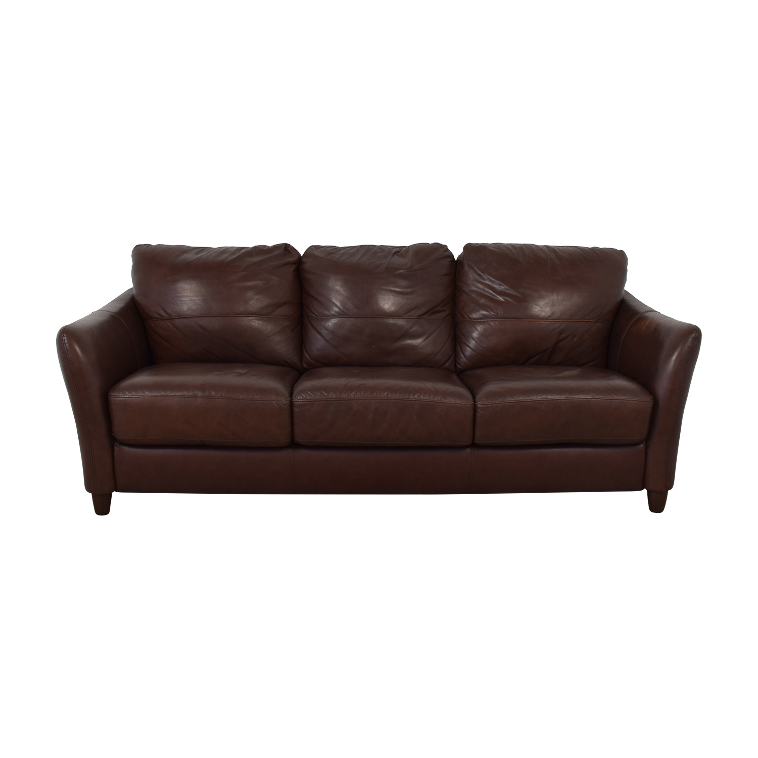 Raymour & Flanigan Raymour & Flanigan Leather Sofa nyc