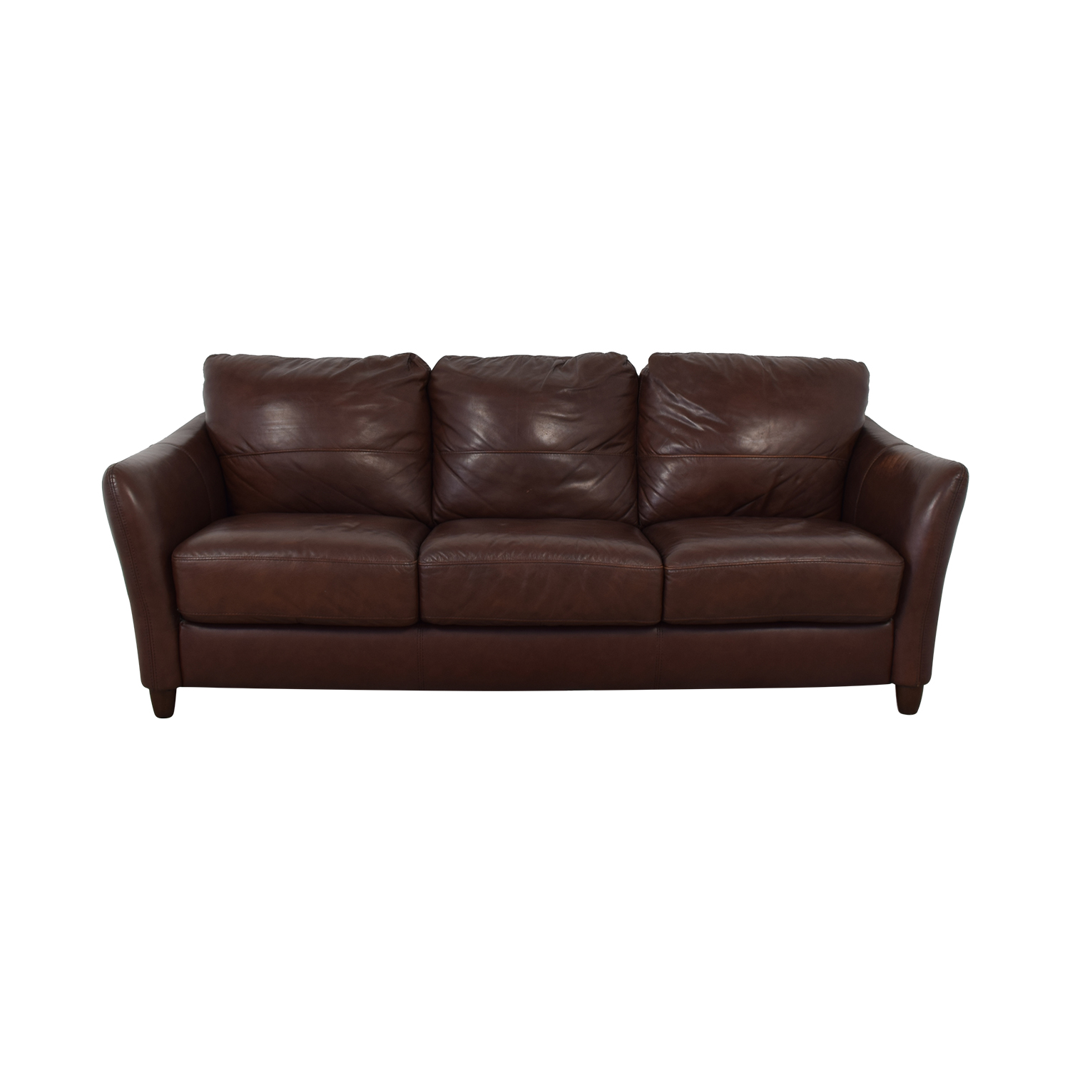 71% OFF - Raymour & Flanigan Raymour & Flanigan Leather Sofa / Sofas