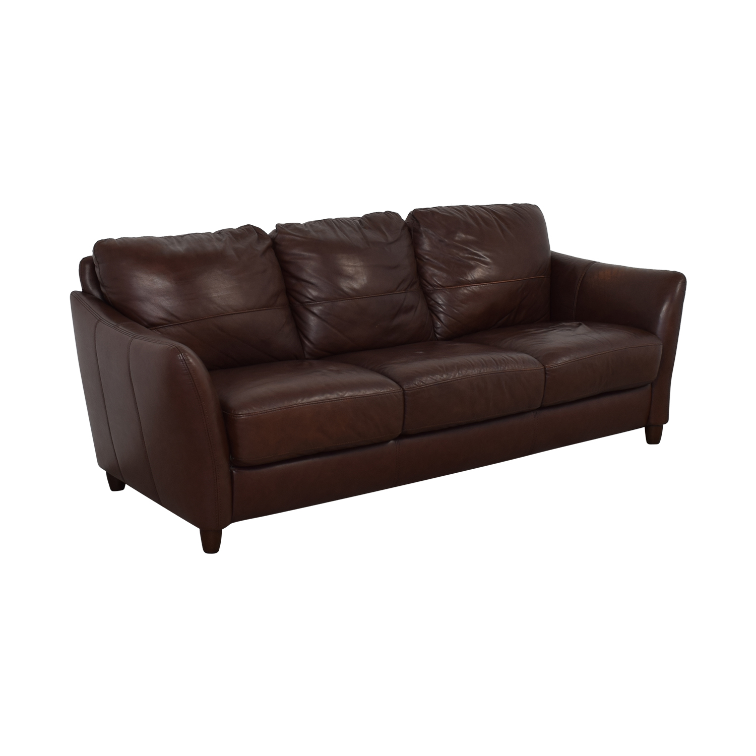 Raymour & Flanigan Raymour & Flanigan Leather Sofa coupon