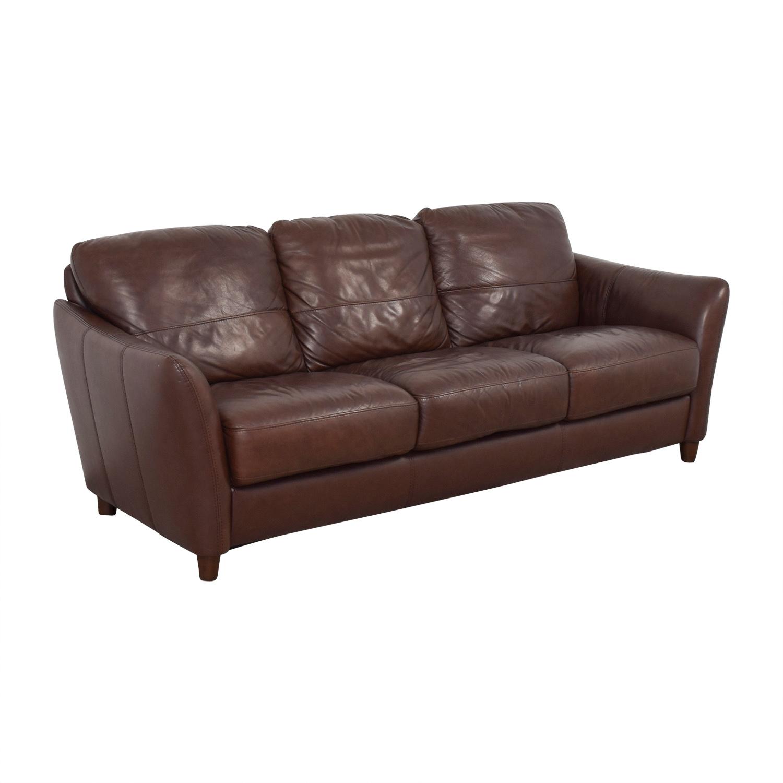 Shop Raymour U0026 Flanigan Leather Sofa Raymour U0026 Flanigan Classic Sofas