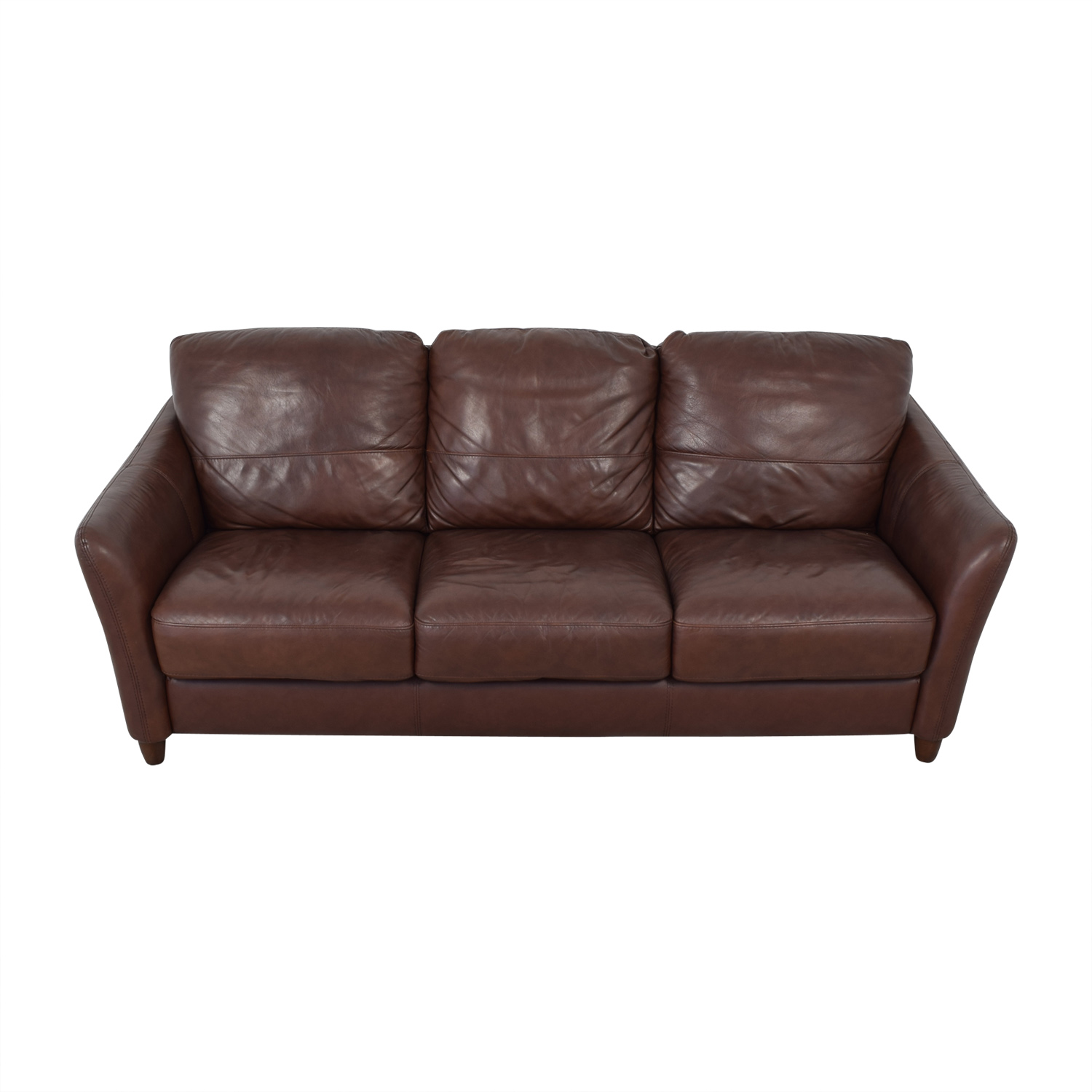 Groovy 58 Off Raymour Flanigan Raymour Flanigan Leather Sofa Sofas Ibusinesslaw Wood Chair Design Ideas Ibusinesslaworg