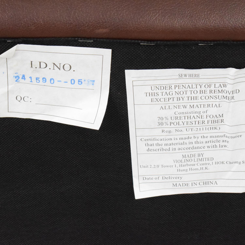 Raymour & Flanigan Raymour & Flanigan Leather Sofa used