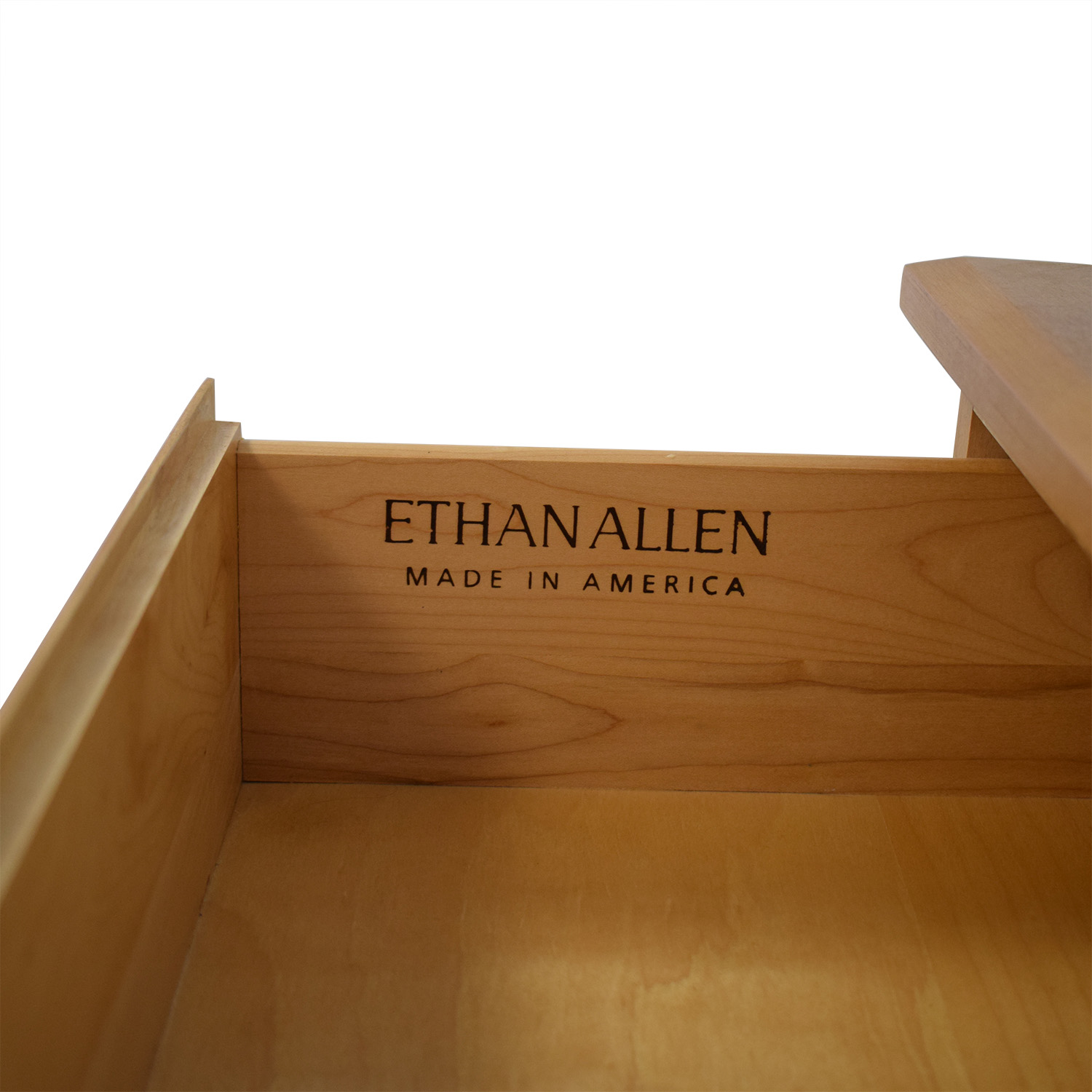 Ethan Allen Three Drawer End Table / End Tables