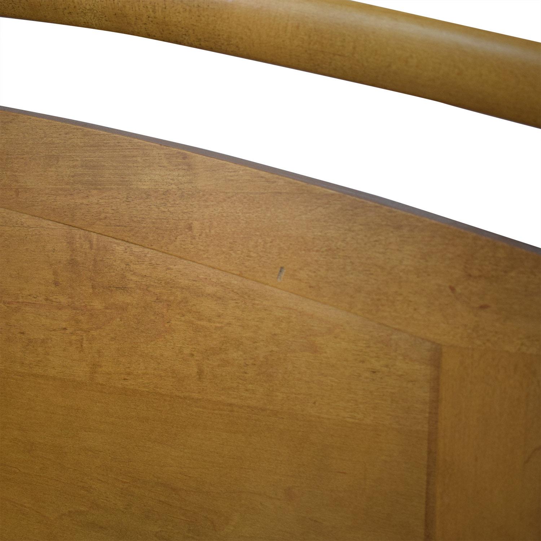 shop Ethan Allen Ethan Allen Elements Queen Arched Panel Wood Bed online