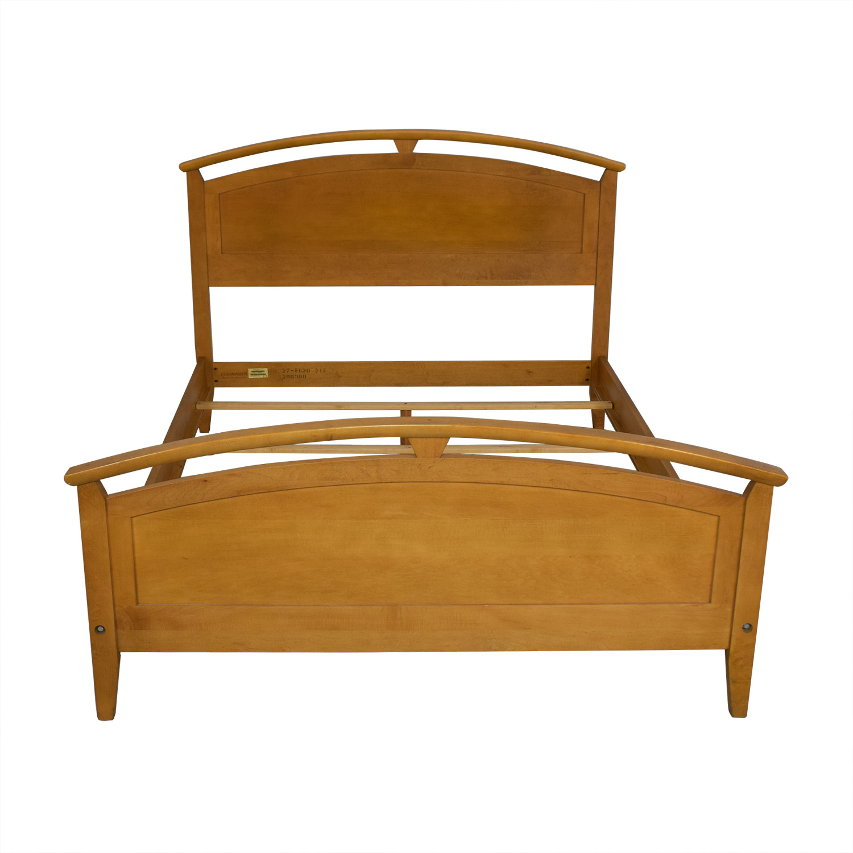 buy Ethan Allen Elements Queen Arched Panel Wood Bed Ethan Allen Beds