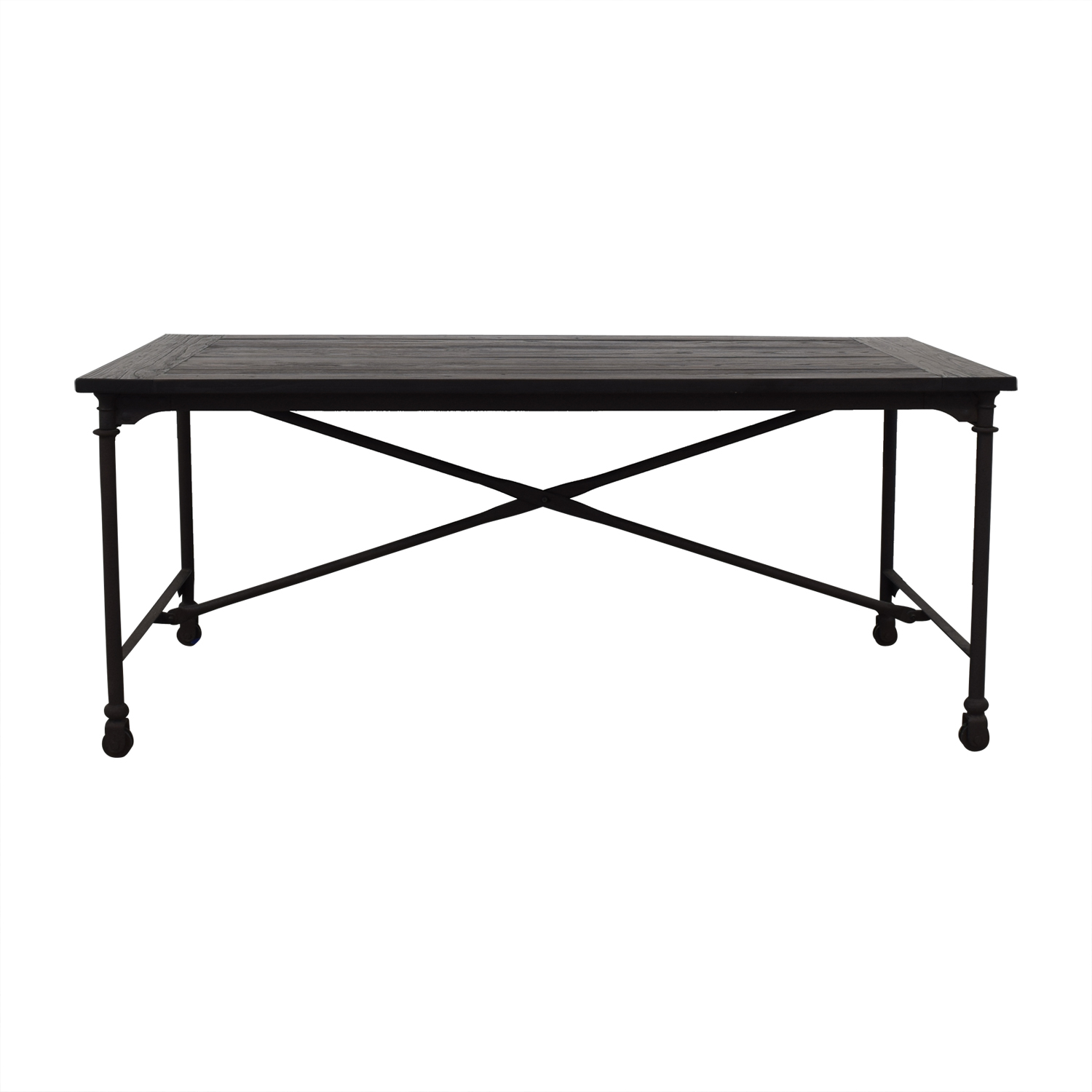 shop Restoration Hardware Flatiron Desk Restoration Hardware