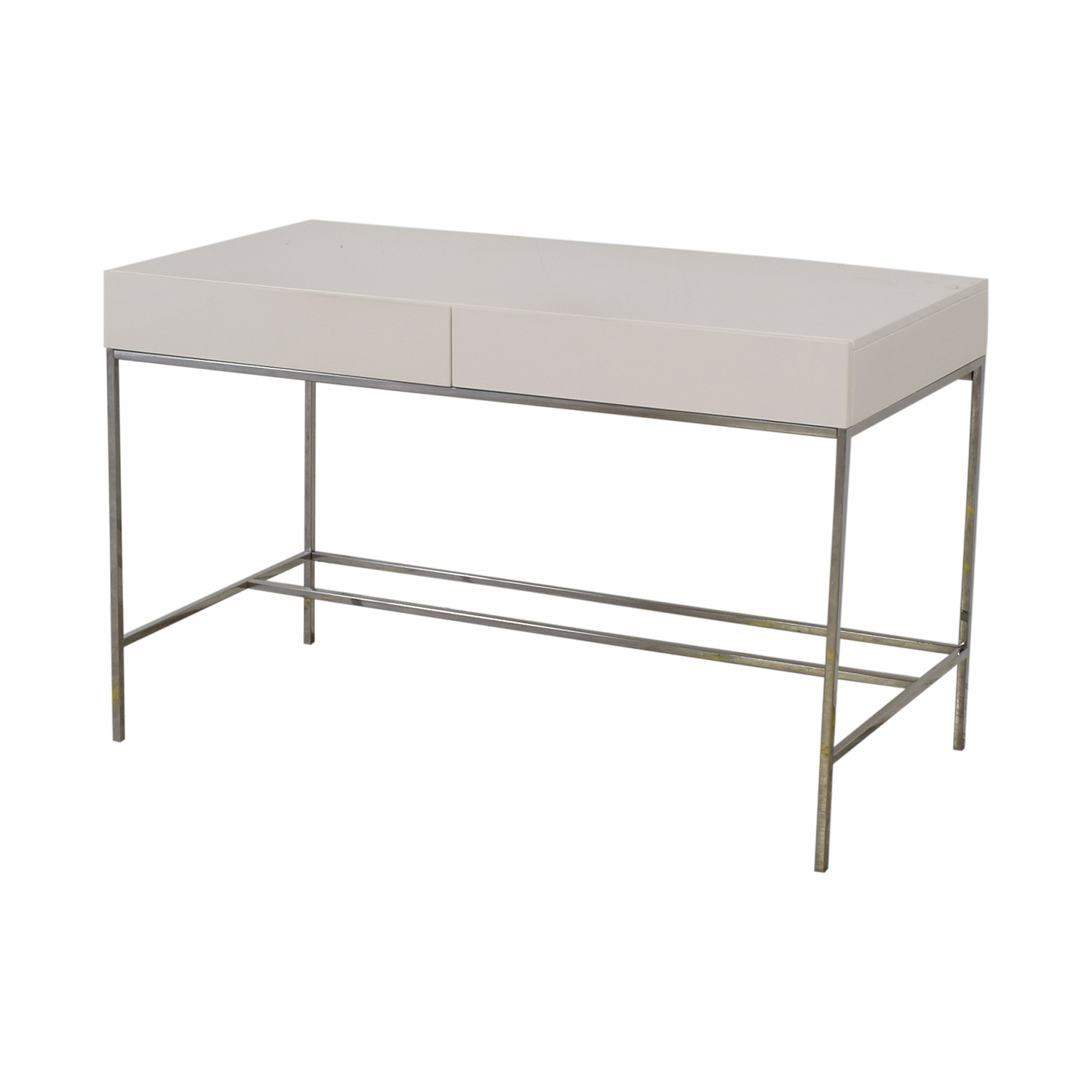 buy West Elm Lacquer Storage Desk West Elm Tables