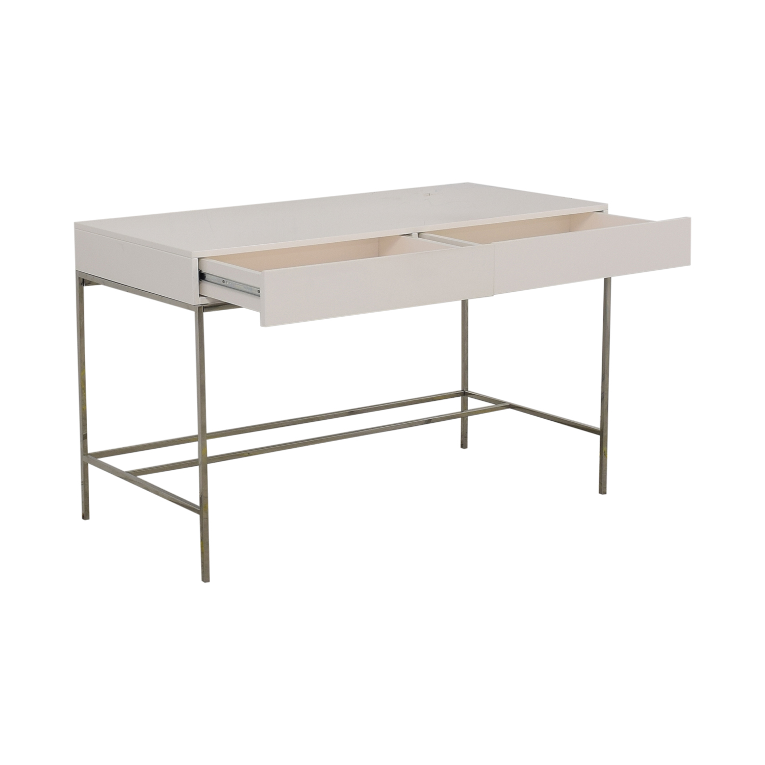 West Elm Lacquer Storage Desk West Elm