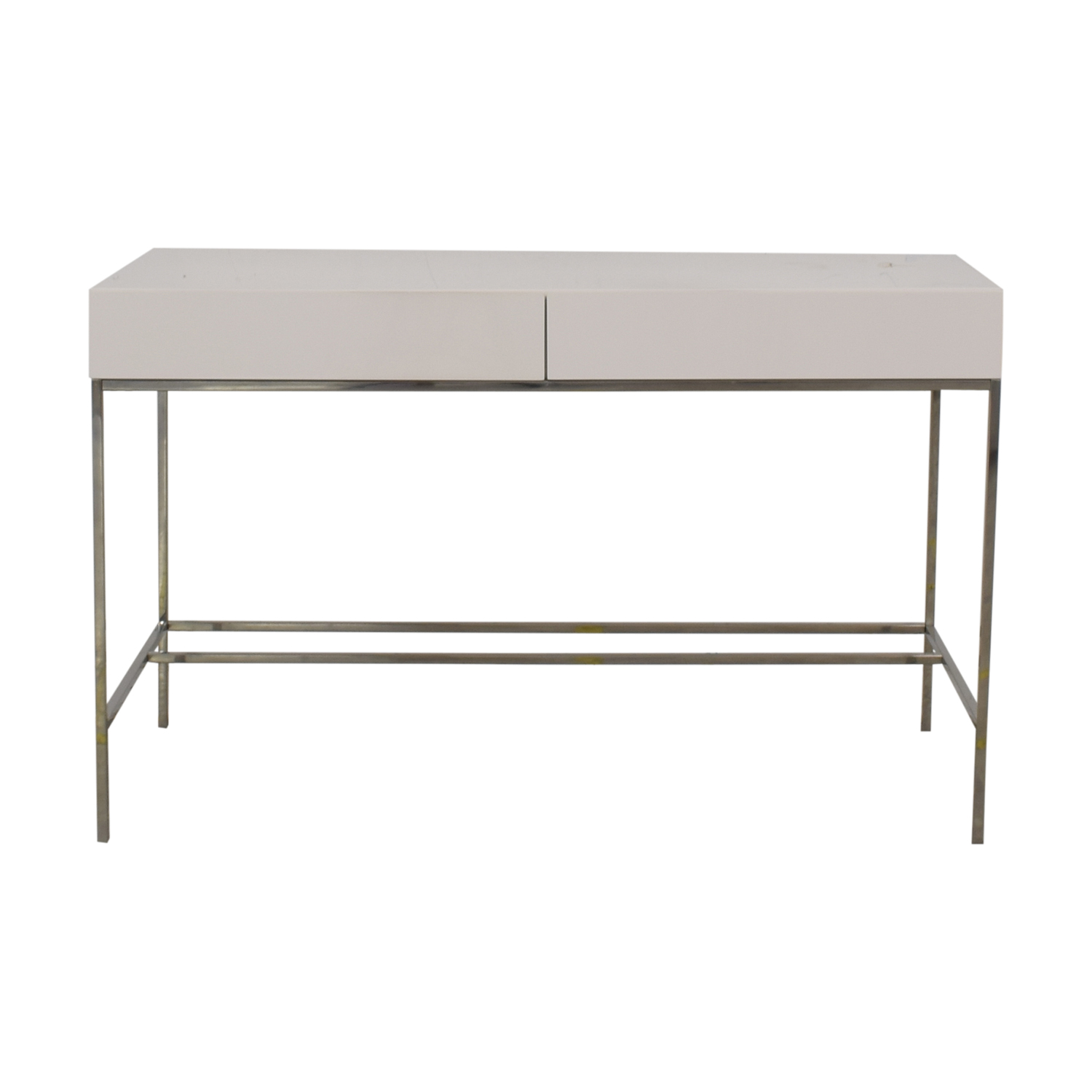 West Elm Lacquer Storage Desk / Tables