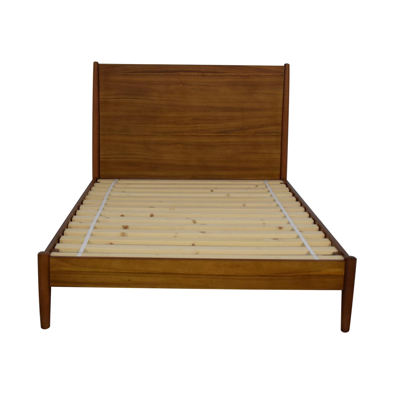 West Elm West Elm Mid Century Full Bed Frame Beds