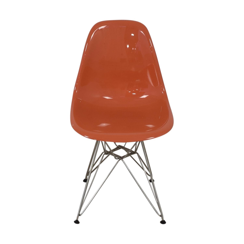 Herman Miller Herman Miller Eames Plastic Molded Chair orange