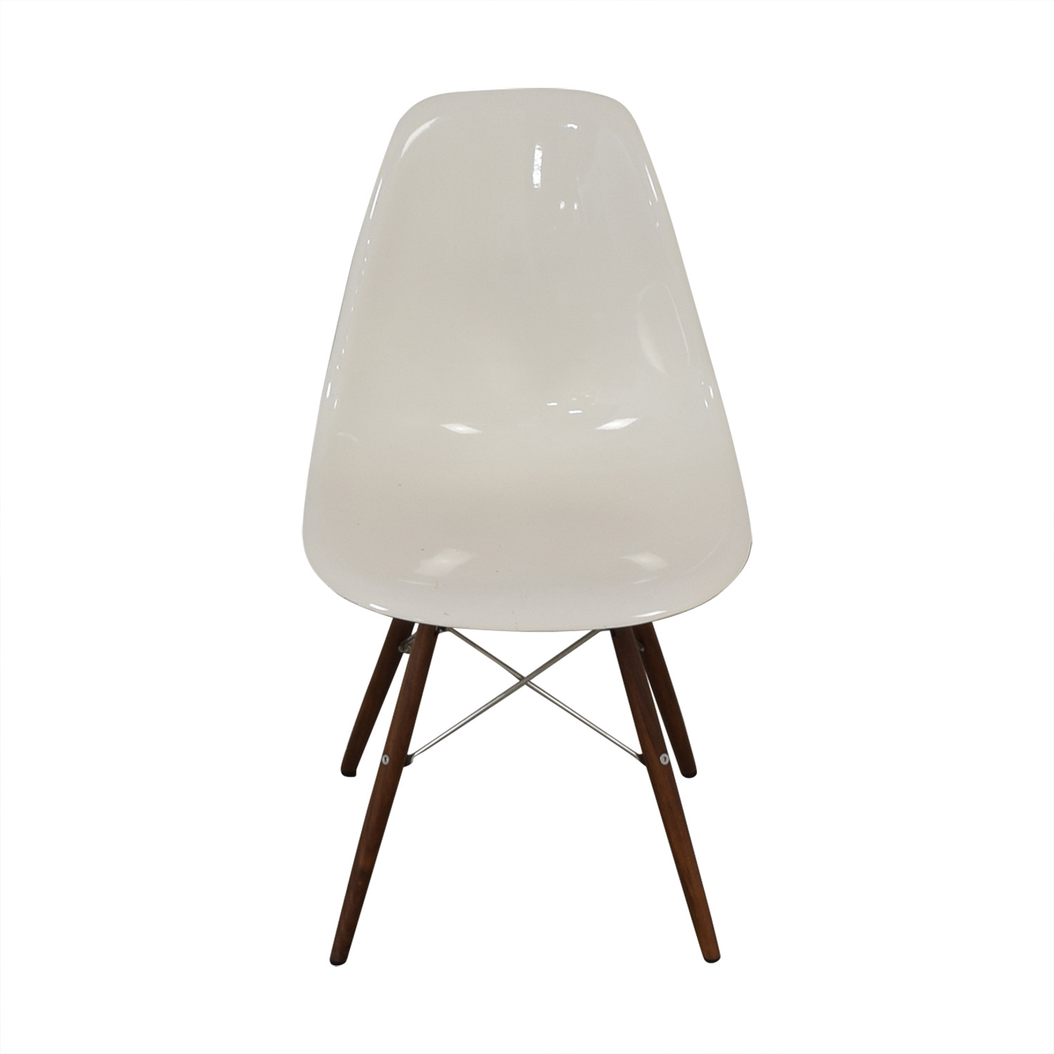 Herman Miller Herman Miller Eames Plastic Molded Chair White discount