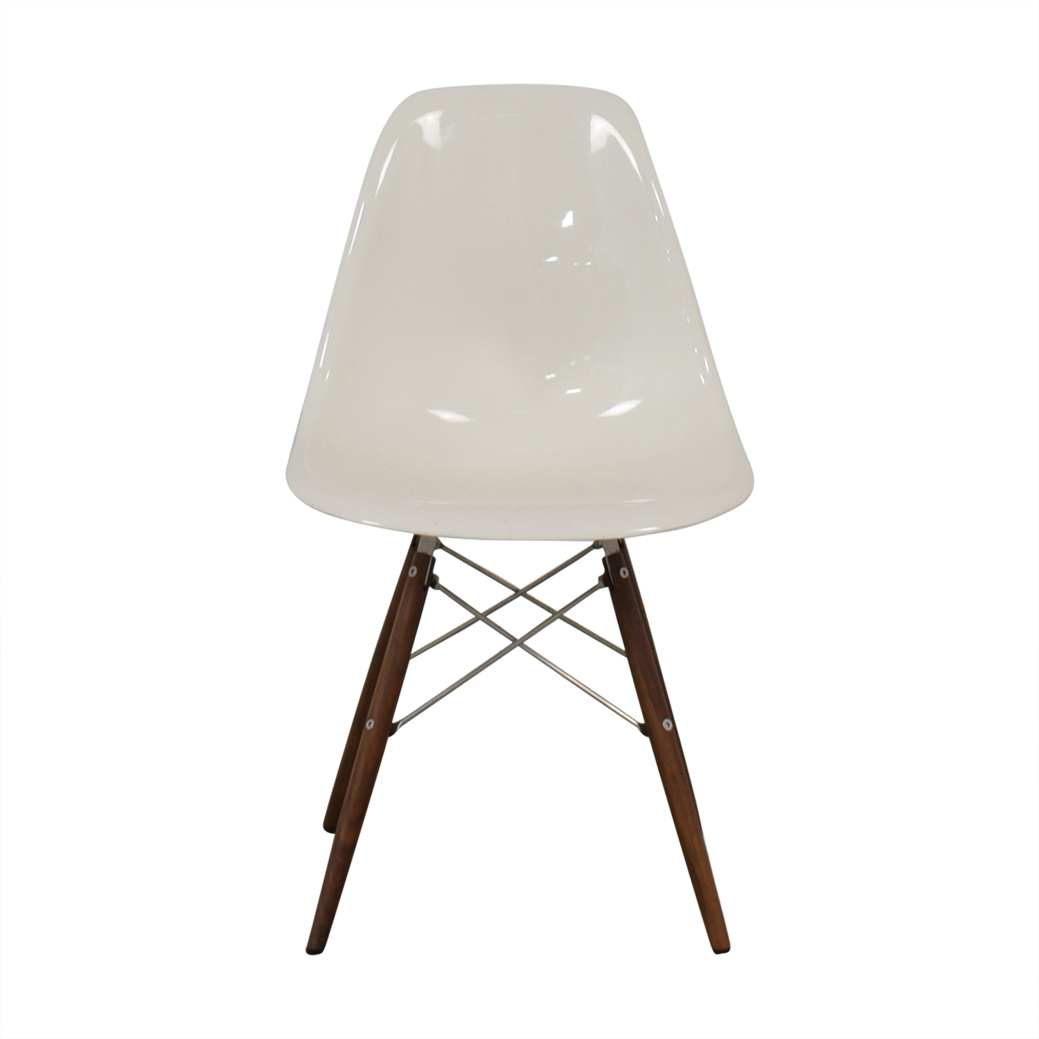 Herman Miller Herman Miller Eames Plastic Molded Chair White coupon