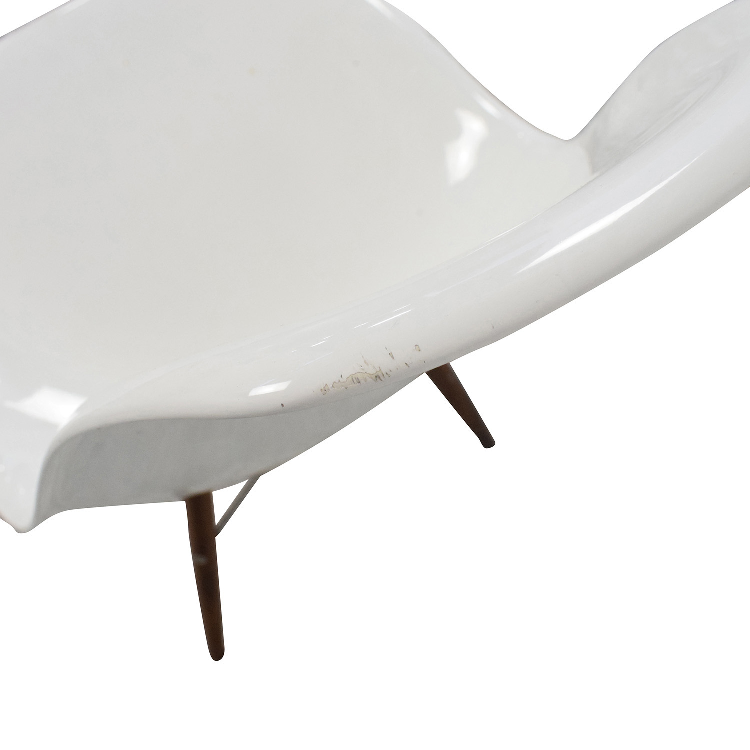 Herman Miller Eames Plastic Molded Chair White / Chairs