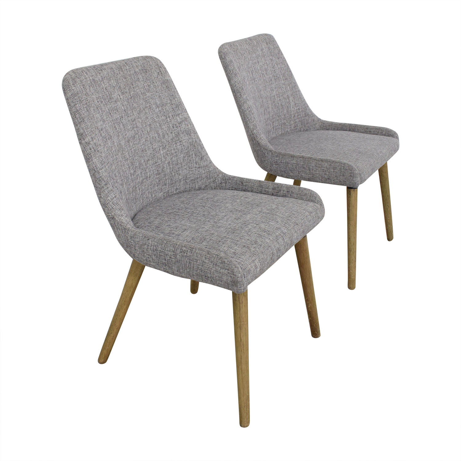 West Elm West Elm Mid-Century Upholstered Dining Chairs Chairs