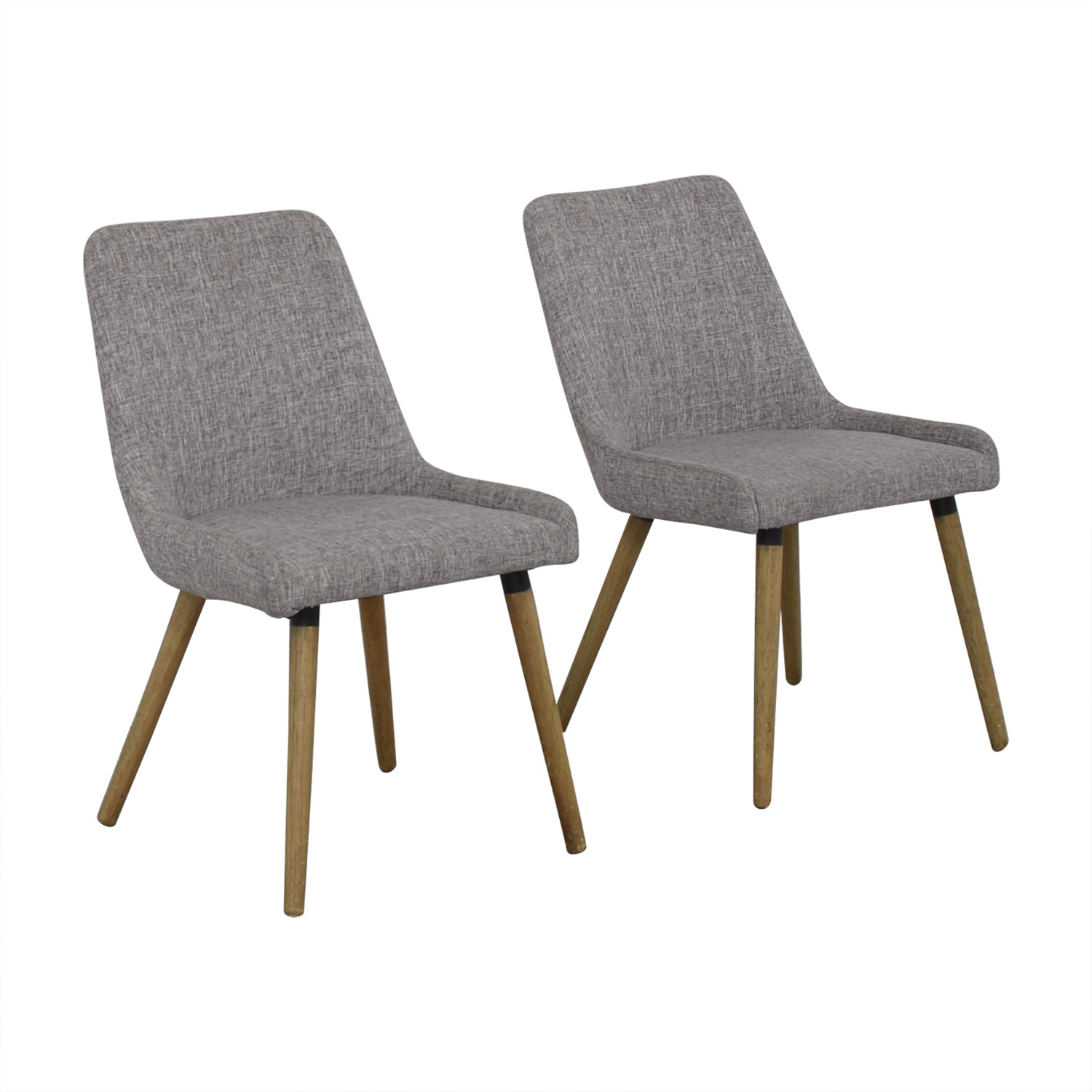 shop West Elm West Elm Mid-Century Upholstered Dining Chairs online