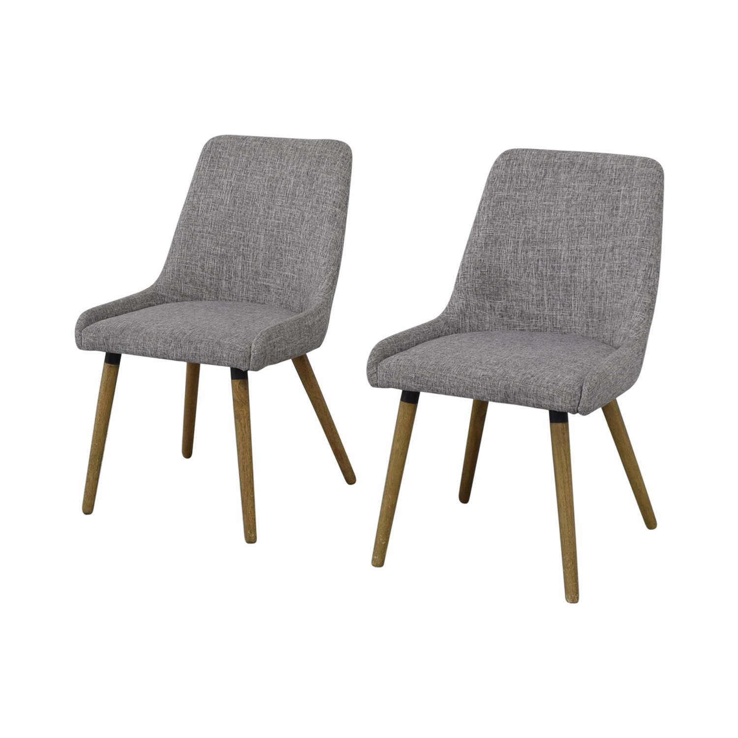 West Elm West Elm Mid-Century Upholstered Dining Chairs used
