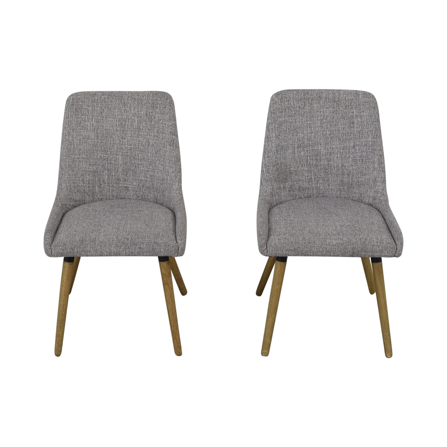 West Elm Mid-Century Upholstered Dining Chairs / Dining Chairs