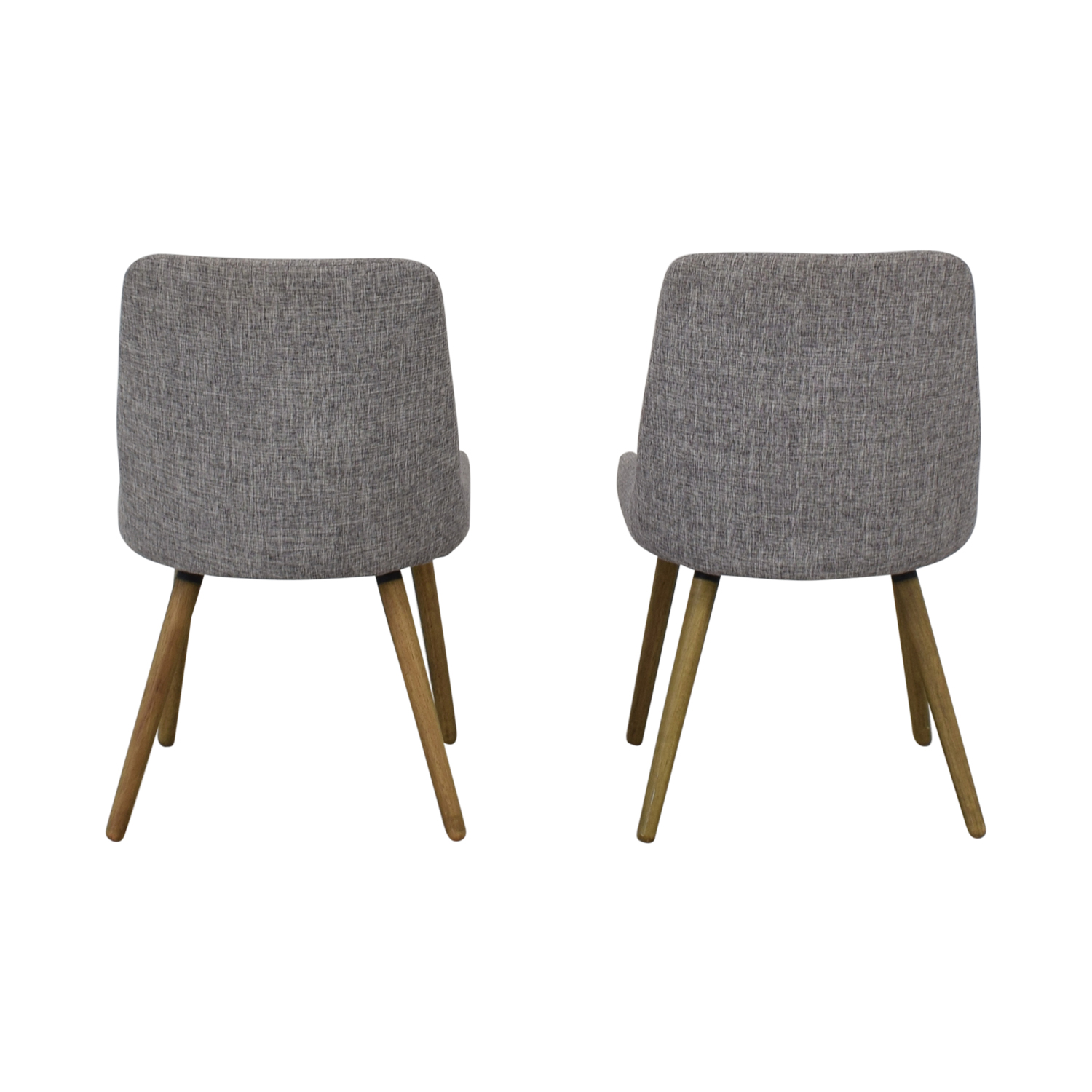 West Elm West Elm Mid-Century Upholstered Dining Chairs discount