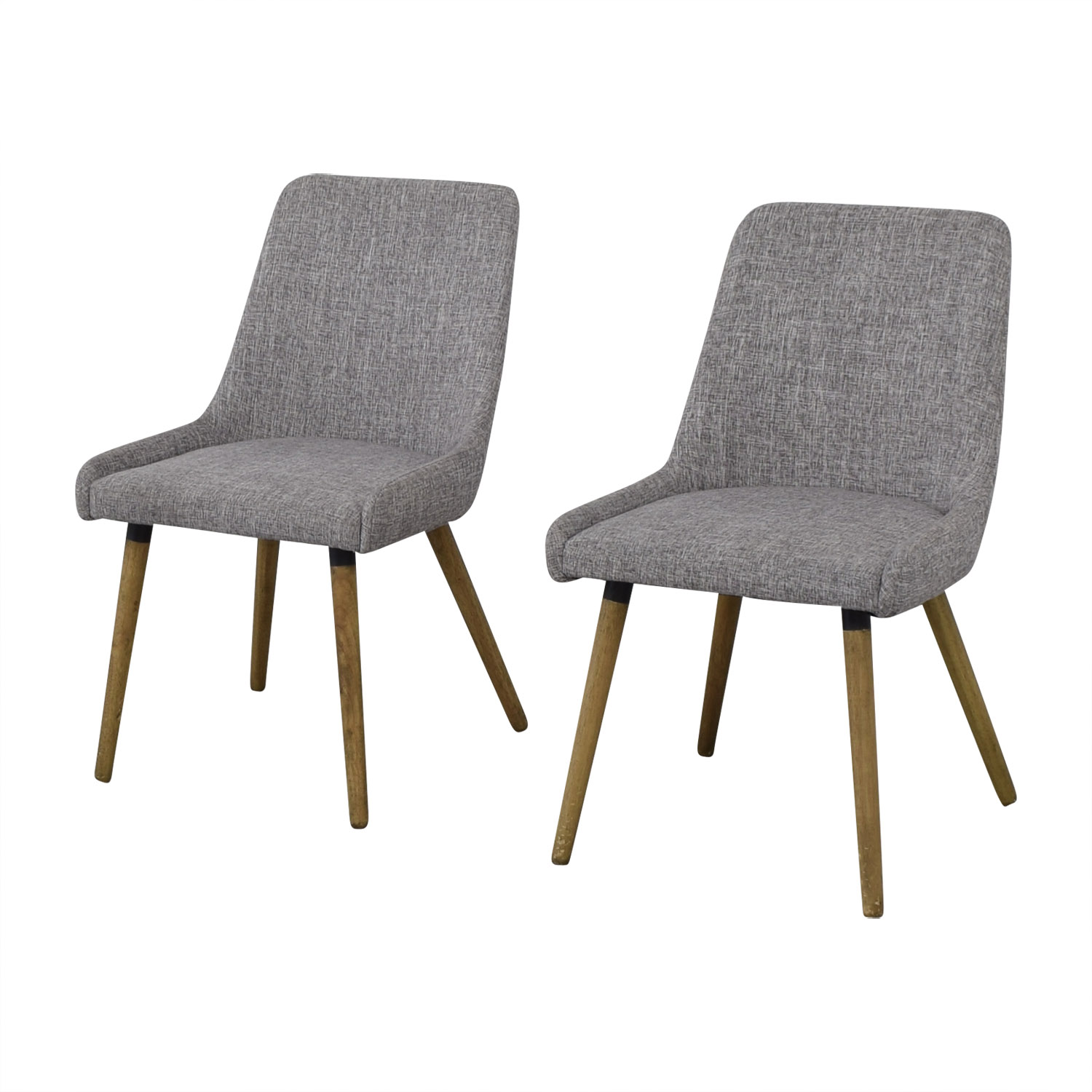 shop West Elm West Elm Mid Century Upholstered Dining Chairs online