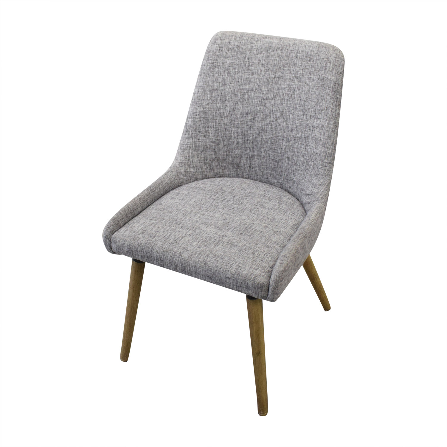 West Elm West Elm Mid Century Upholstered Dining Chairs dimensions
