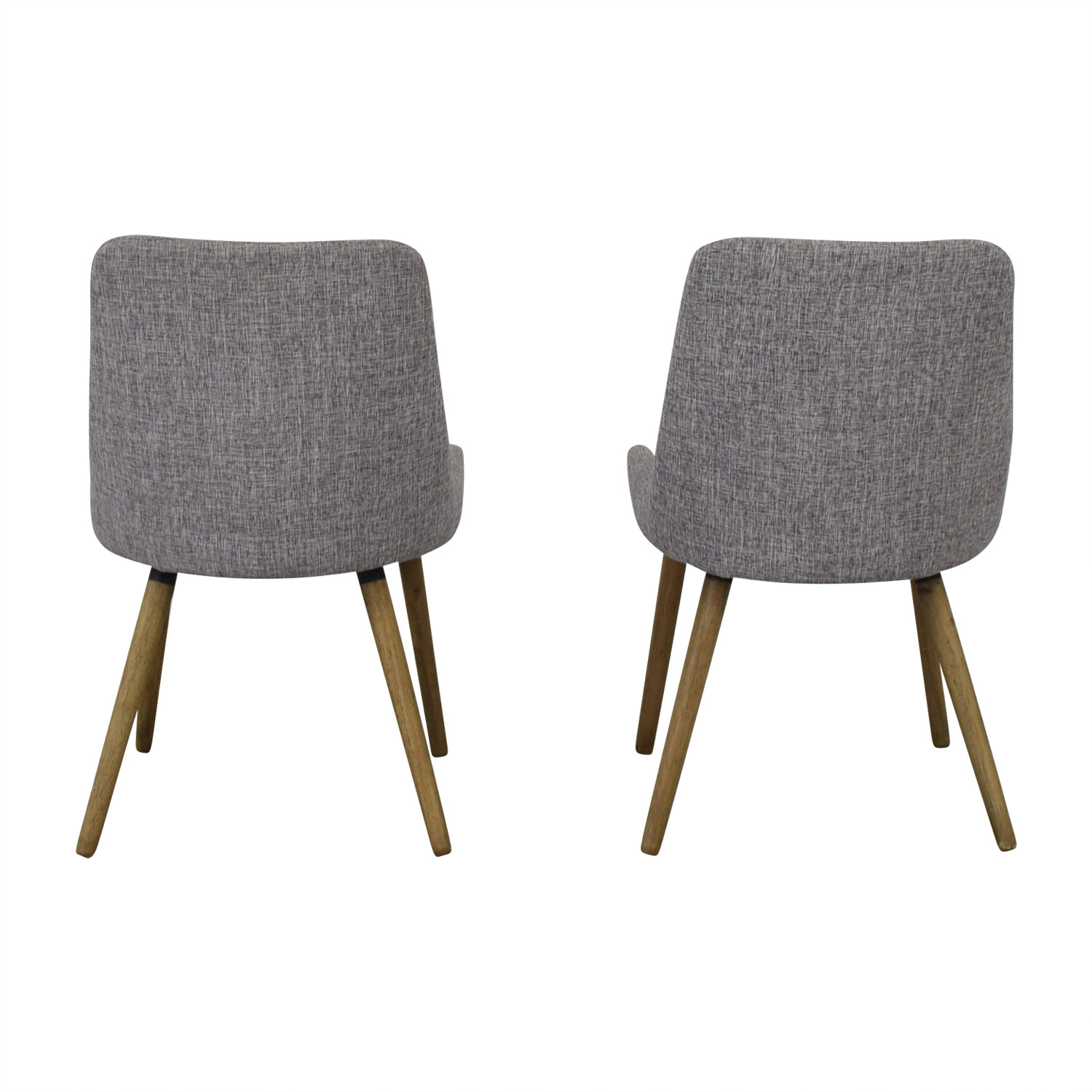 buy West Elm Mid Century Upholstered Dining Chairs West Elm Chairs
