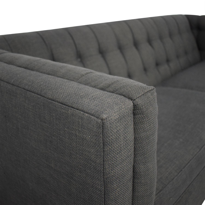 Raymour & Flanigan Raymour & Flanigan Cooper Tuxedo Sofa Classic Sofas