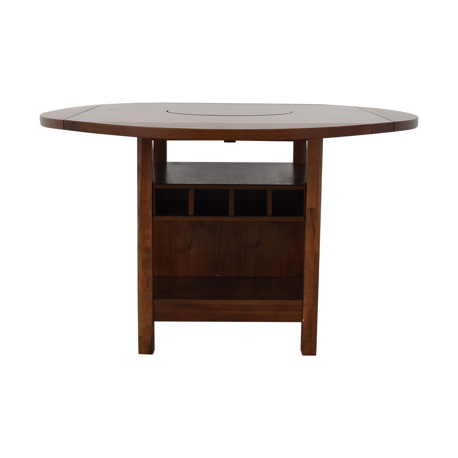 CrownMark Furniture CrownMark Conner Counter Height Table with Wine Storage for sale