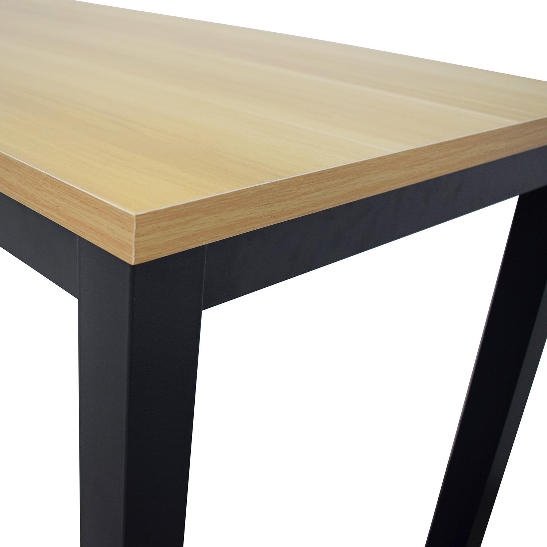West Elm Box Frame Desk sale