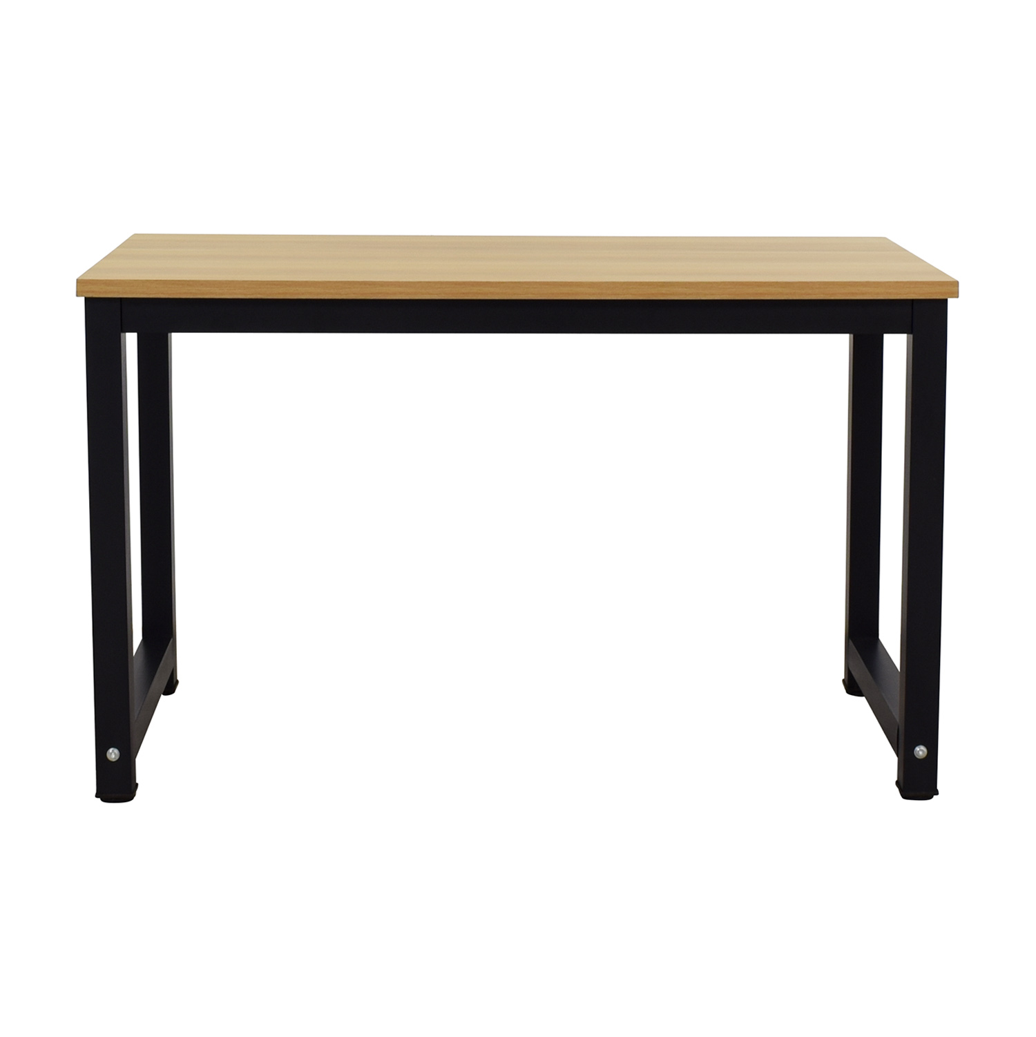West Elm West Elm Box Frame Desk brown & black