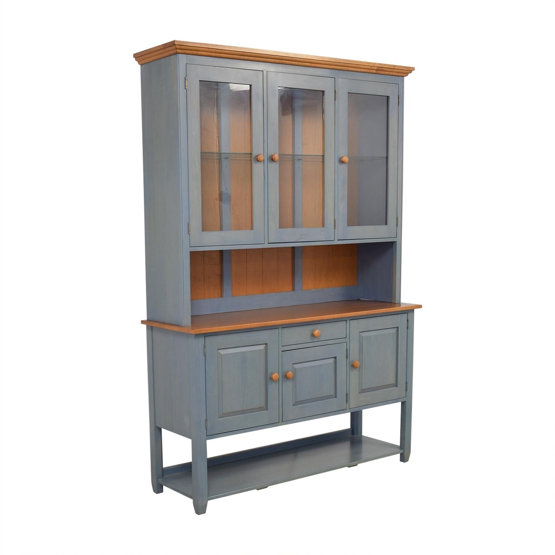 shop Ethan Allen China Cabinet Hutch Ethan Allen Storage