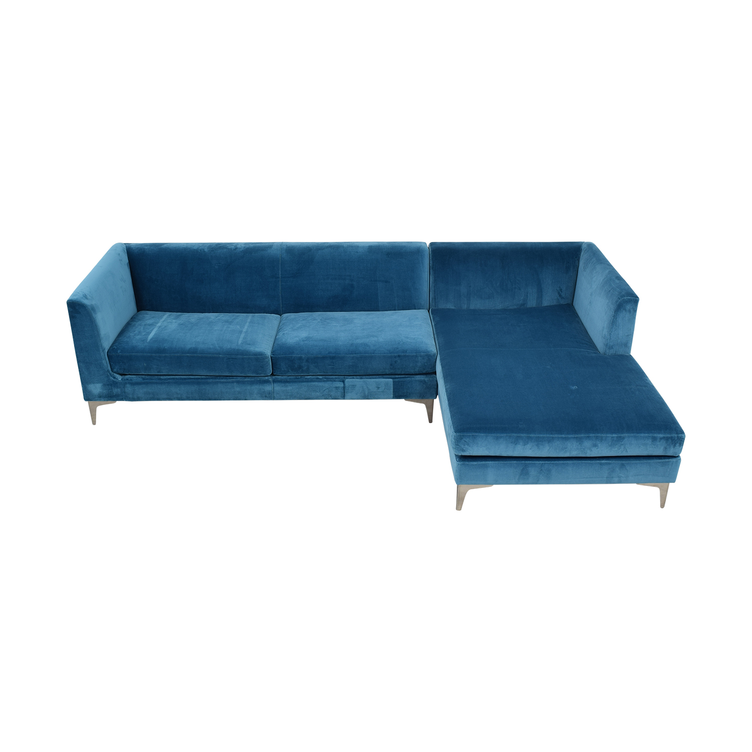 Room & Board Room & Board Sterling Sectional with Right Arm Chaise nyc