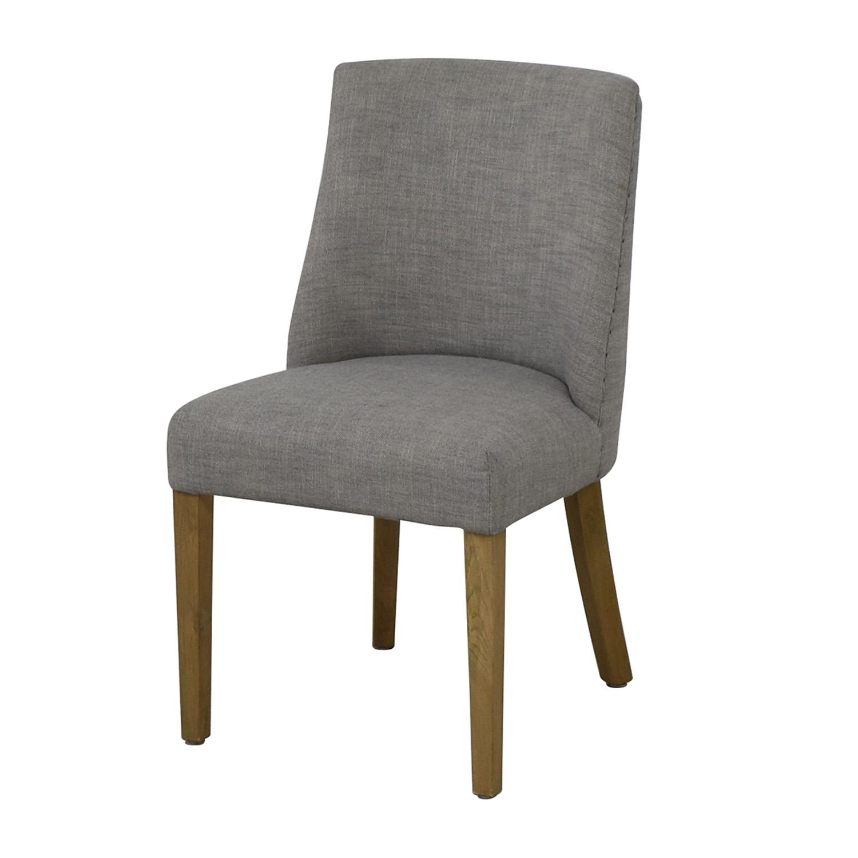 Restoration Hardware Restoration Hardware 1940S French Barrelback Fabric Side Chair used