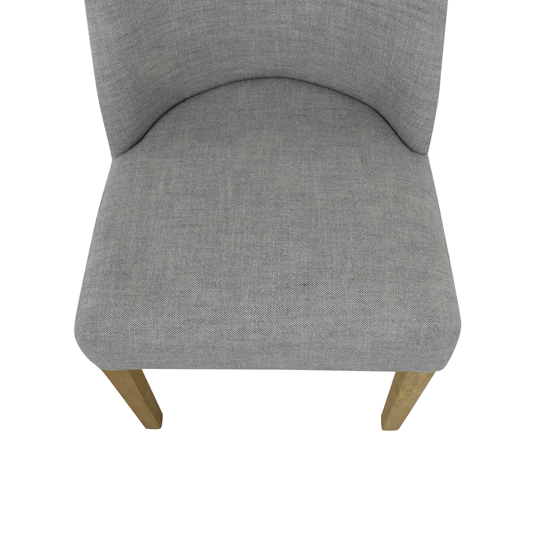 buy Restoration Hardware 1940S French Barrelback Fabric Side Chair Restoration Hardware