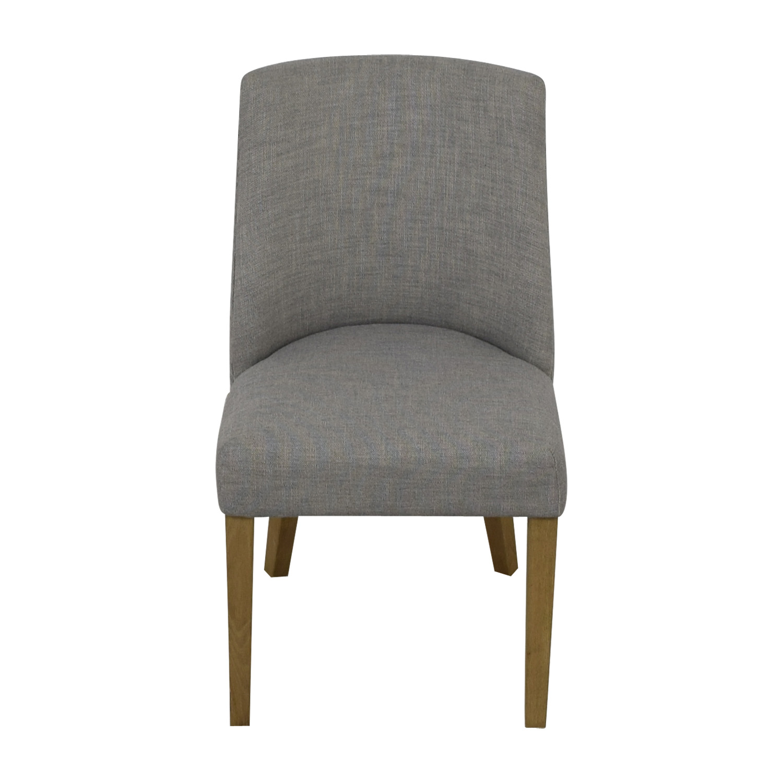 shop Restoration Hardware 1940S French Barrelback Fabric Side Chair Restoration Hardware Chairs