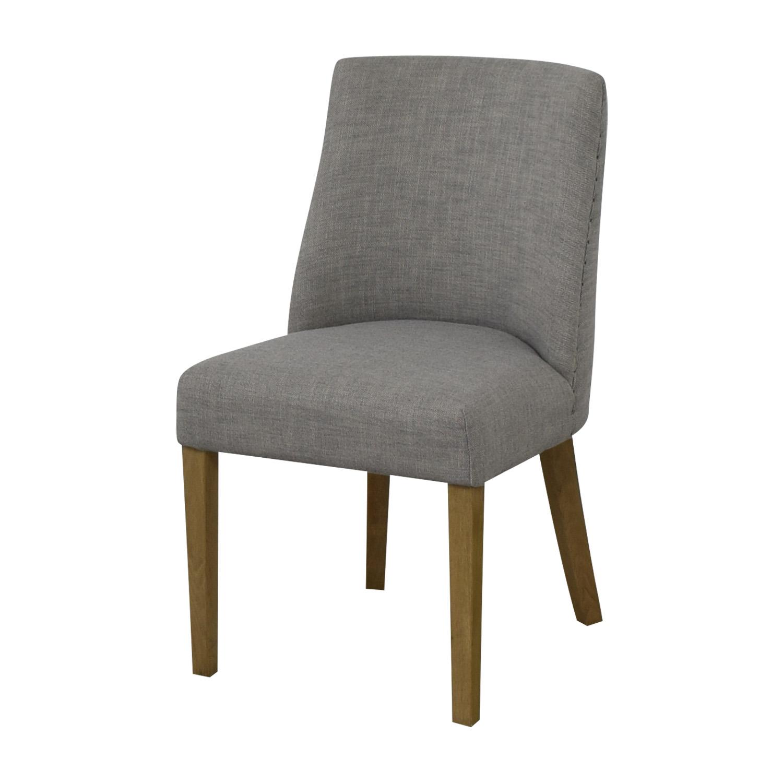 Restoration Hardware Restoration Hardware 1940S French Barrelback Fabric Side Chair discount