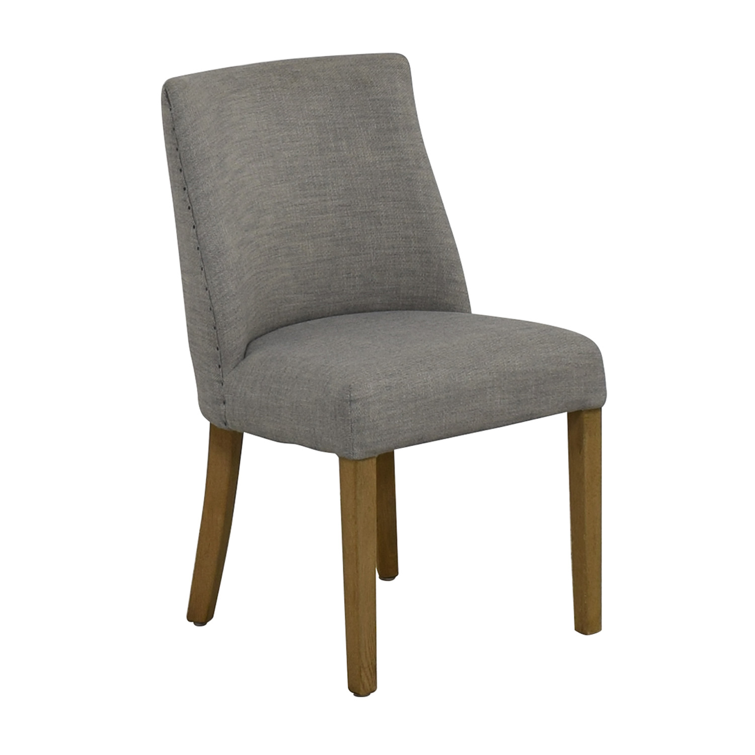 Restoration Hardware 1940S French Barrelback Fabric Side Chair / Chairs
