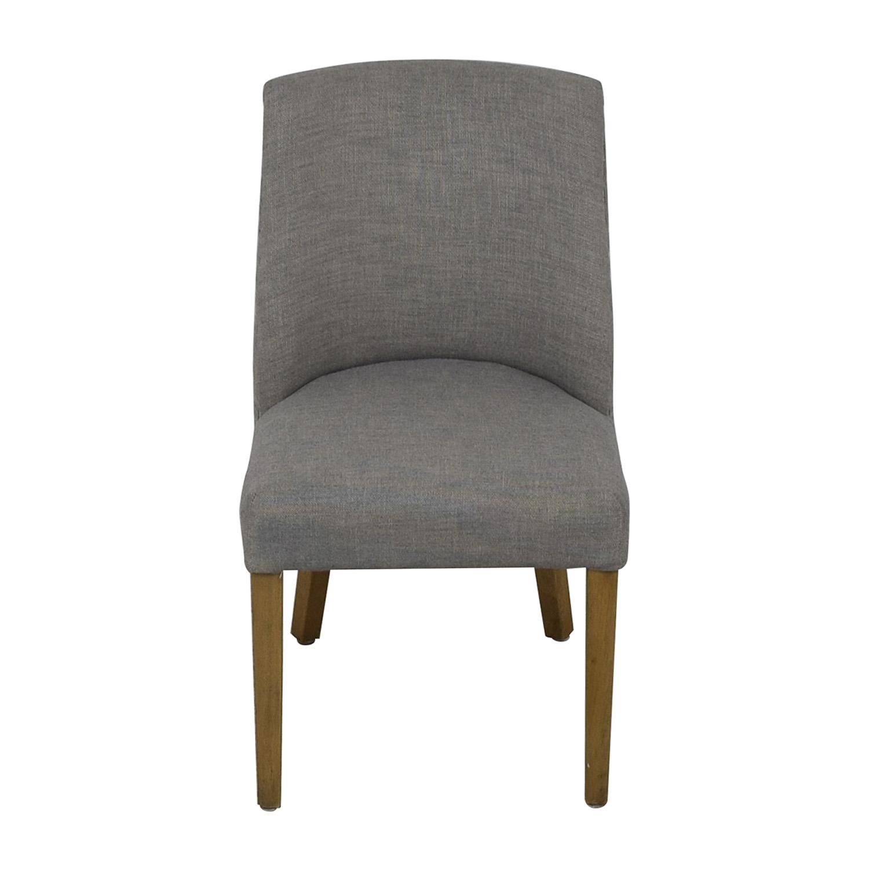 Restoration Hardware 1940S French Barrelback Fabric Side Chair sale